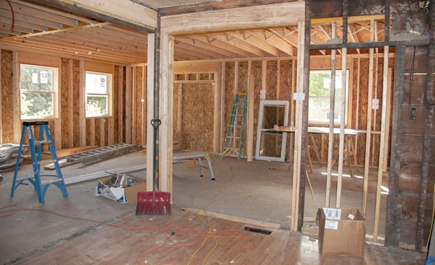 Estimated home remodeling